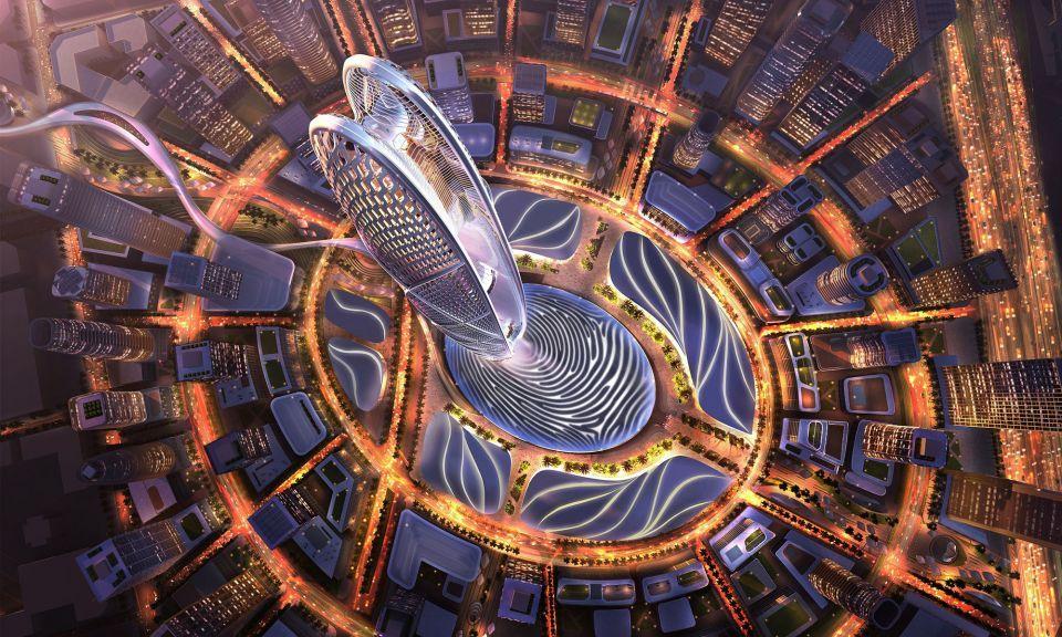 بالصور : محمد بن راشد يطلق برج جميرا