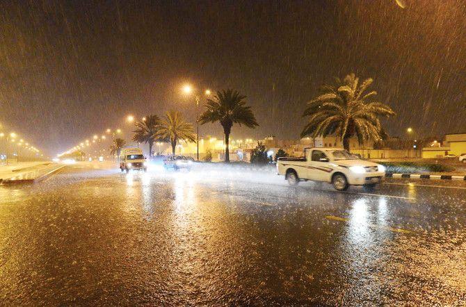 أمطار غزيرة متوقعة خلال عطلة نهاية الأسبوع في السعودية