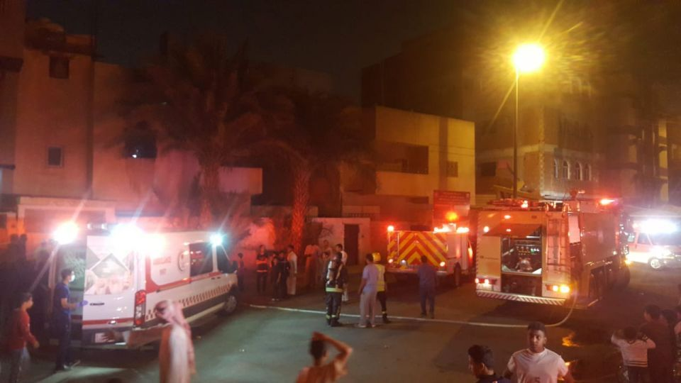 مصرع 3 سعوديين في حريق منزلين