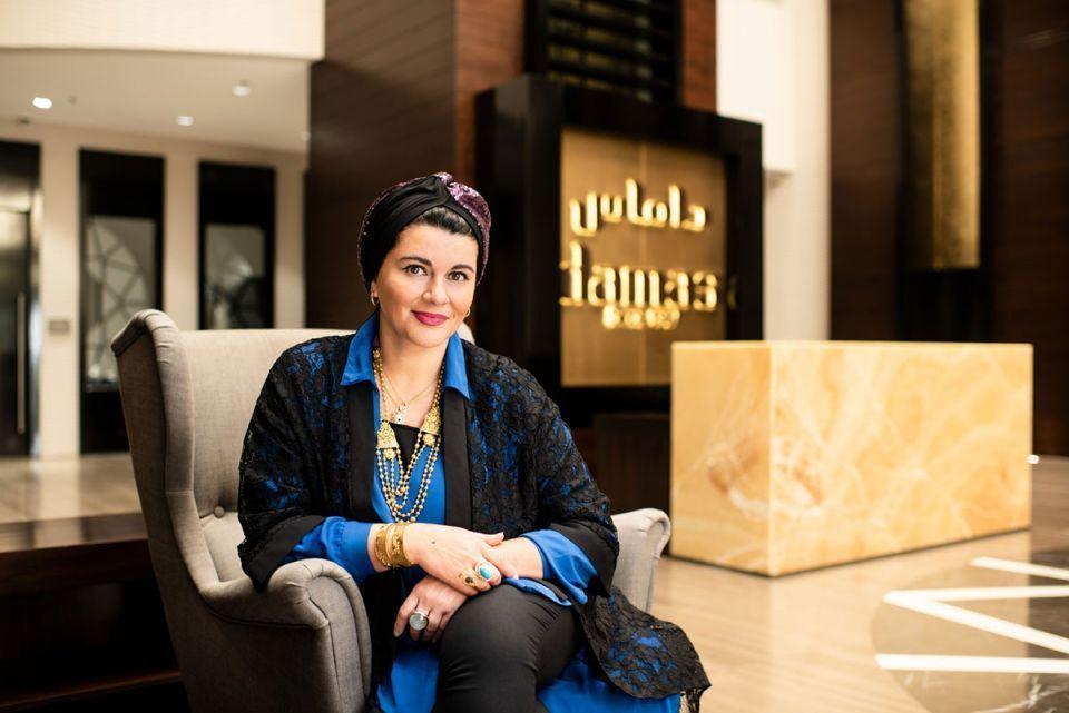 أسيل عطار تصبح أول امرأة في منصب رئيس تنفيذي  لمجوهرات داماس