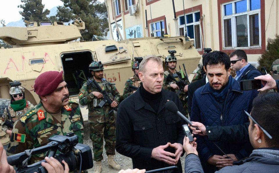 وزير الدفاع الأميركي يزور بغداد  لاحتواء تصريحات ترامب