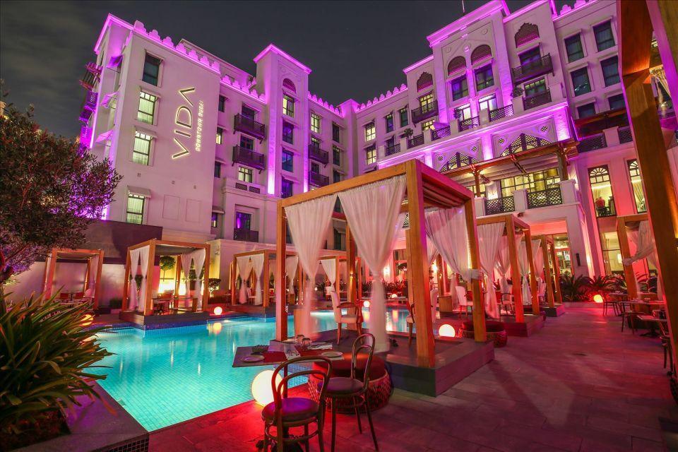 عشاء رومانسي تحت النجوم في ثري إن وان بفندق فيدا وسط المدينة