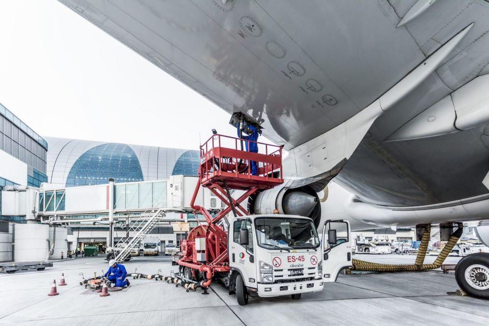 إينوك الإماراتية توسع عملياتها لتزويد وقود الطائرات في مصر