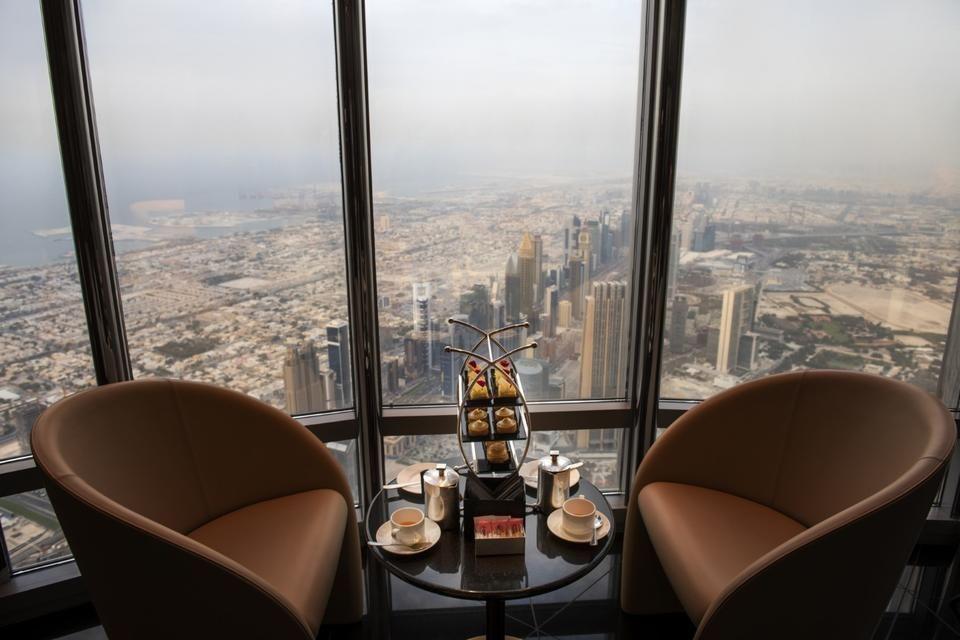 إعمار تفتتح «ذا لاونج» في برج خليفة الردهة الأعلى في العالم