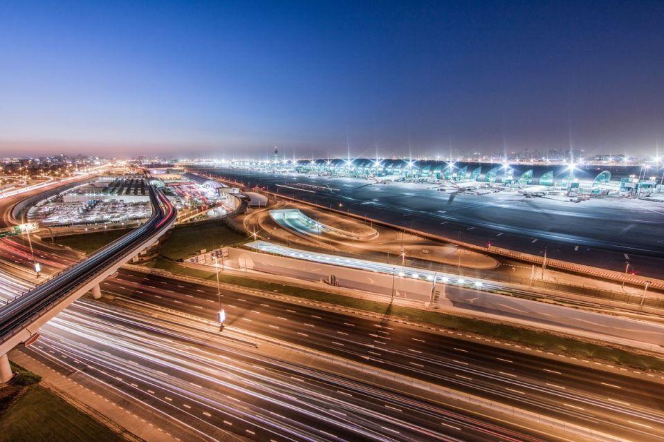 استئناف الرحلات الجوية في مطار دبي بعد توقف بسبب طائرة مسيرة