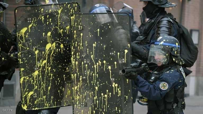 السترات الصفراء تحتفل بـ3 أشهر على انطلاق حراكها