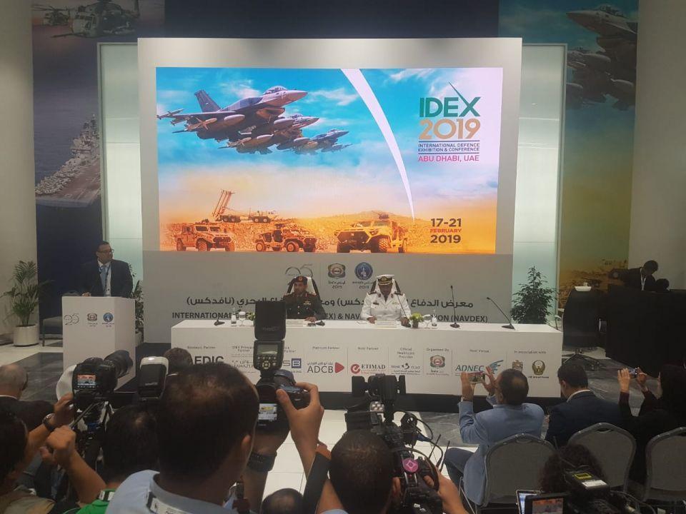 الإمارات: صفقات عسكرية بقيمة 5 مليارات درهم في «أيدكس» و «نافدكس» 2019