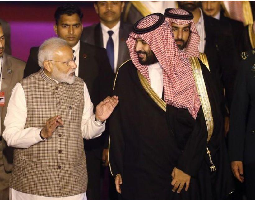 رئيس وزراء الهند يكسر البروتوكول الحكومي لاستقبال ولي العهد السعودي