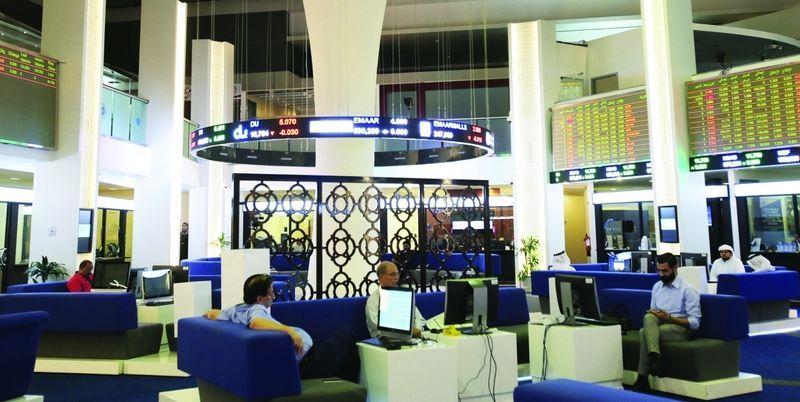 بورصة دبي تصعد لأعلى مستوى في شهرين والأسهم المالية تهبط بالسعودية