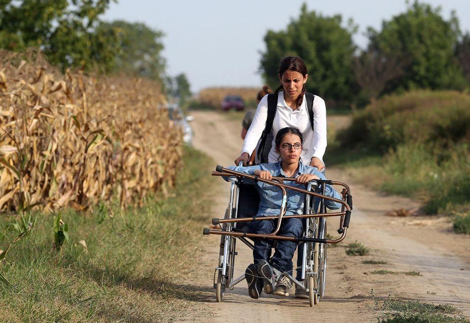 المشقة لا تدوم، نوجين مصطفى لاجئة على كرسي متحرك