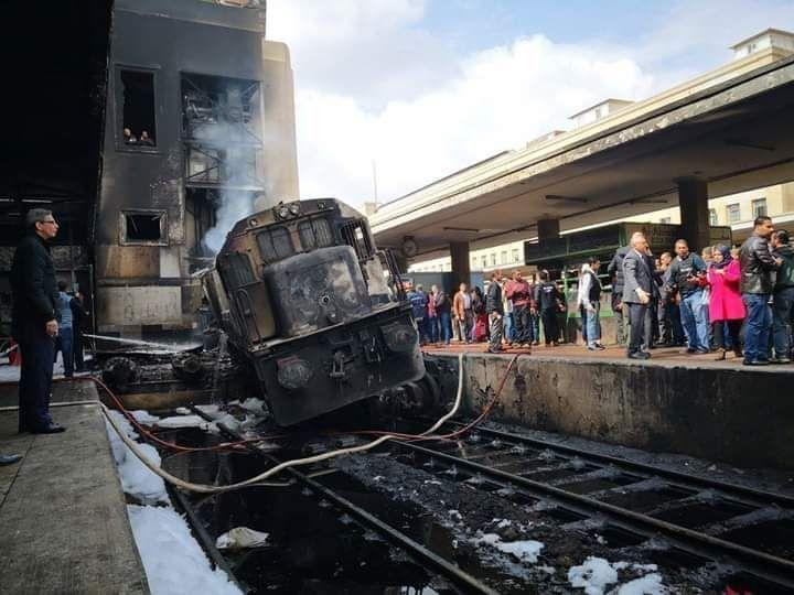 20 قتيلا و40 مصابا في حادث حريق محطة القطارات بالقاهرة