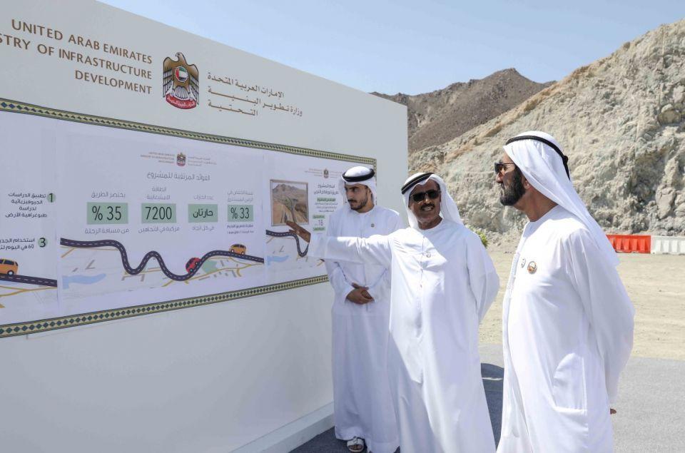 الإمارات: مليار درهم لمشاريع البنية التحتية بالفجيرة و400 مليون لبناء مجمع سكني بخورفكان