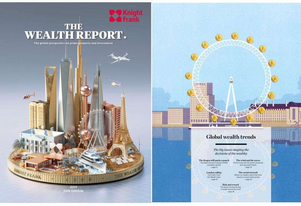 الإمارات تتصدر وجهات أثرياء العالم