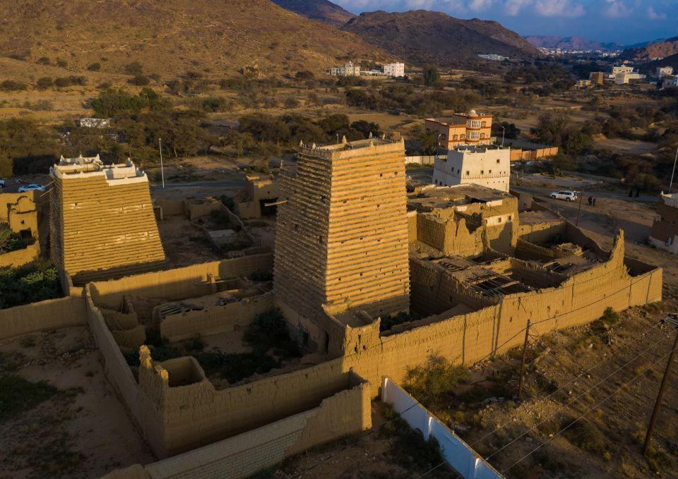 صور من الخيال لمناظر في السعودية