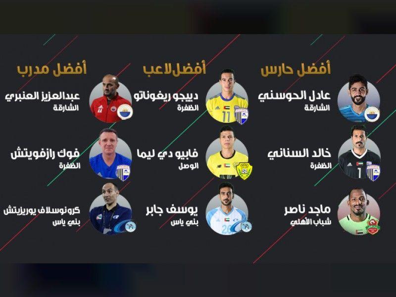 تعرف على المرشحين لجوائز فبراير في دوري الخليج العربي لكرة القدم