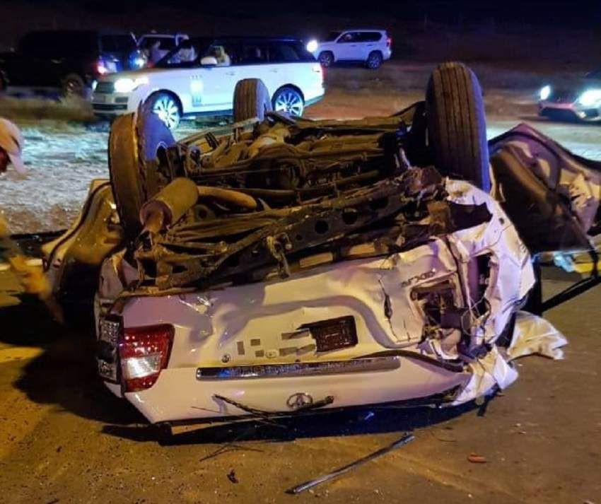 حادث مروري يودي بحياة 3 إماراتيين وآسيوي في رأس الخيمة