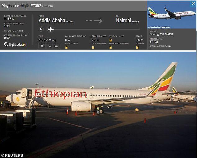 تحطم طائرة ركاب إثيوبية متجهة إلى نيروبي وعلى متنها 157 شخصا