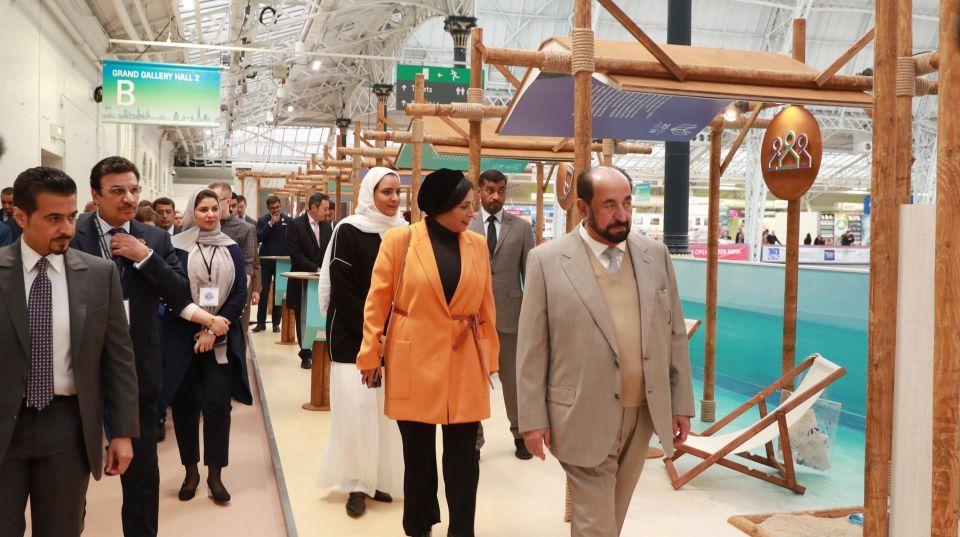 بالصور.. سلطان القاسمي يشهد فعاليات إعلان الشارقة عاصمة عالمية للكتاب