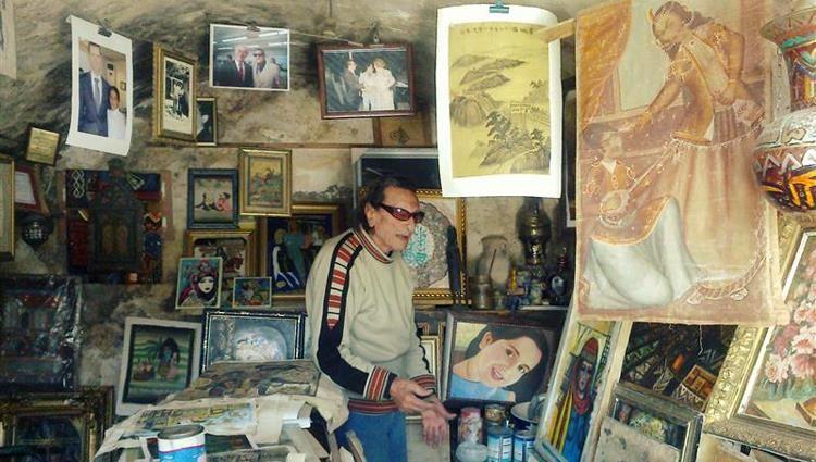 الموت يغيب الفنان التشكيلي السوري محمد ناجي العبيد عن 101 عاما
