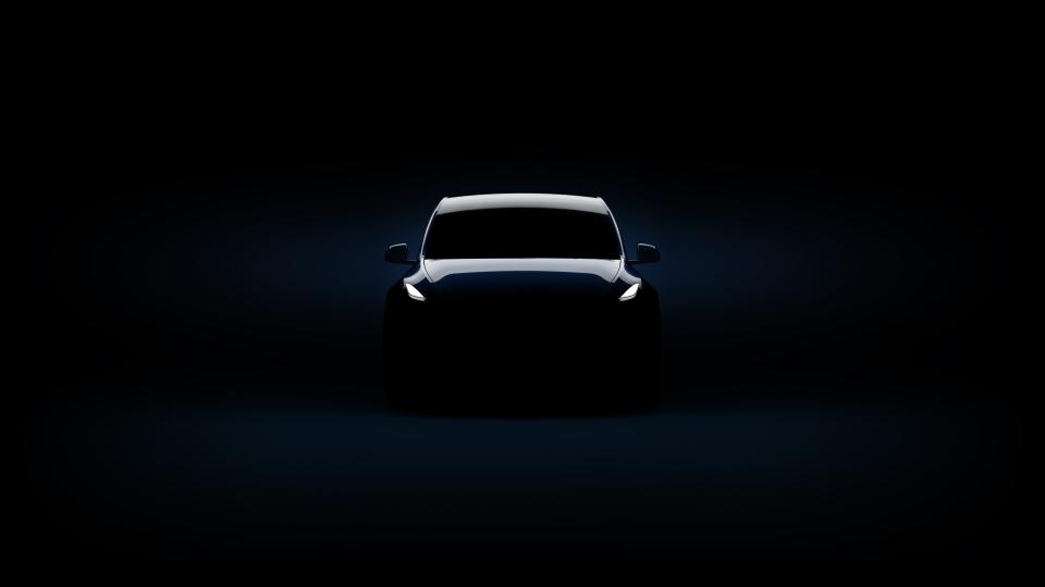 صور سيارة تيسلا واي