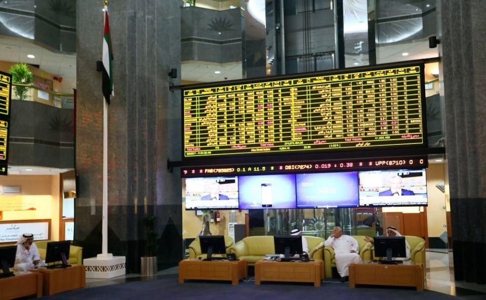 الأسهم الإماراتية تكسب 11.5 مليار درهم في جلسة واحدة