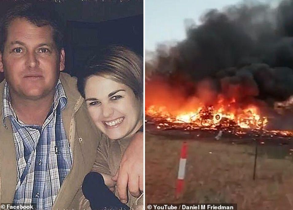 شاهد فيديو جنون طيار يهاجم حفلا لطفل بسبب خلاف عائلي في بوتسوانا