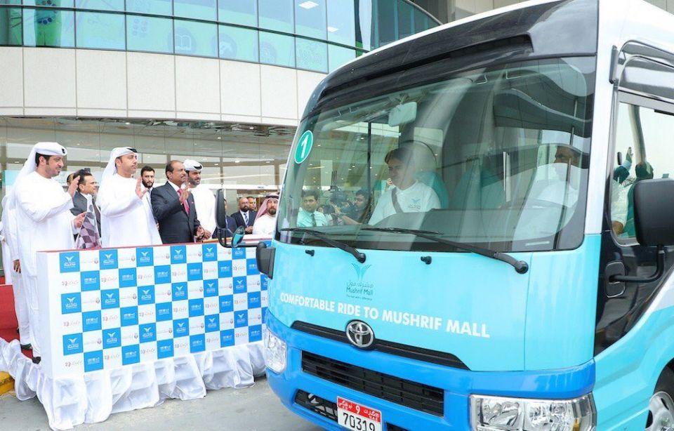 أبوظبي تطلق خدمة التنقل المجاني من وإلى مراكز التسوق