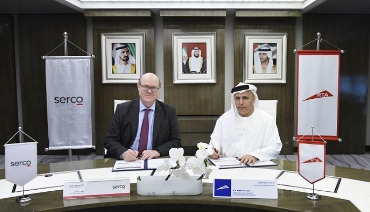 تمديد عقد تشغيل وصيانة مترو دبي مع سيركو البريطانية لعام 2021