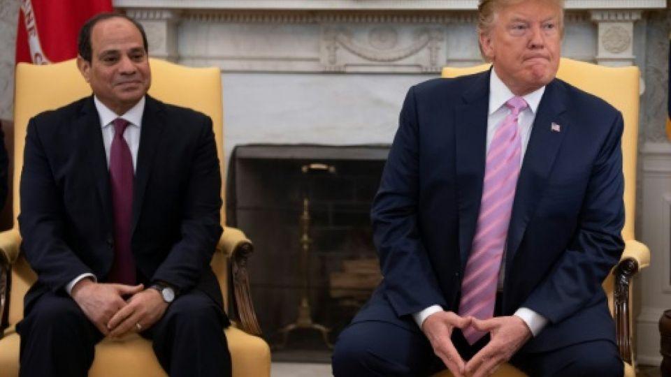 ترامب يشيد بـ «العمل العظيم» الذي يقوم به الرئيس المصري