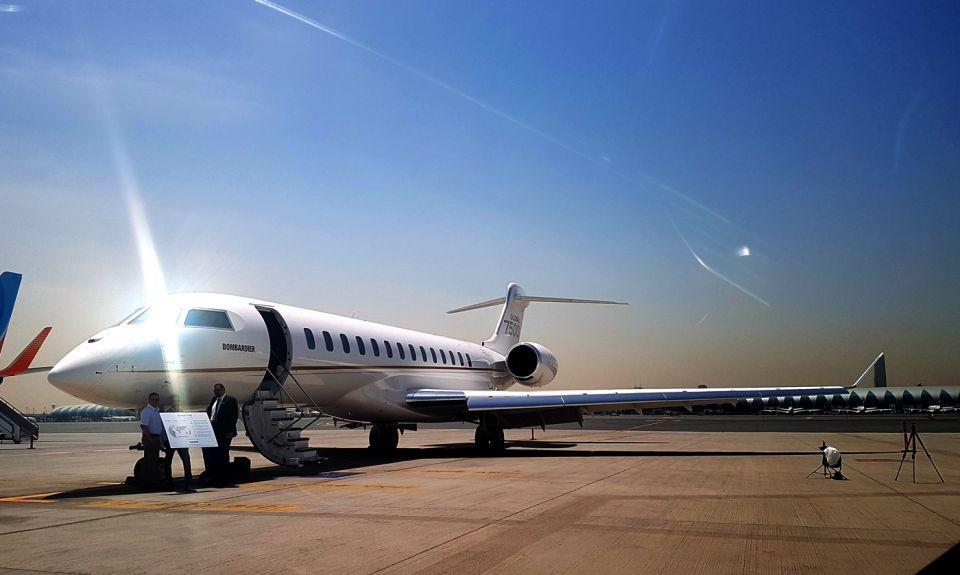 شاهد طائرة بومباردييه غلوبل 7500 لتحلق من دبي إلى سان فرانسيسكو بلا توقف