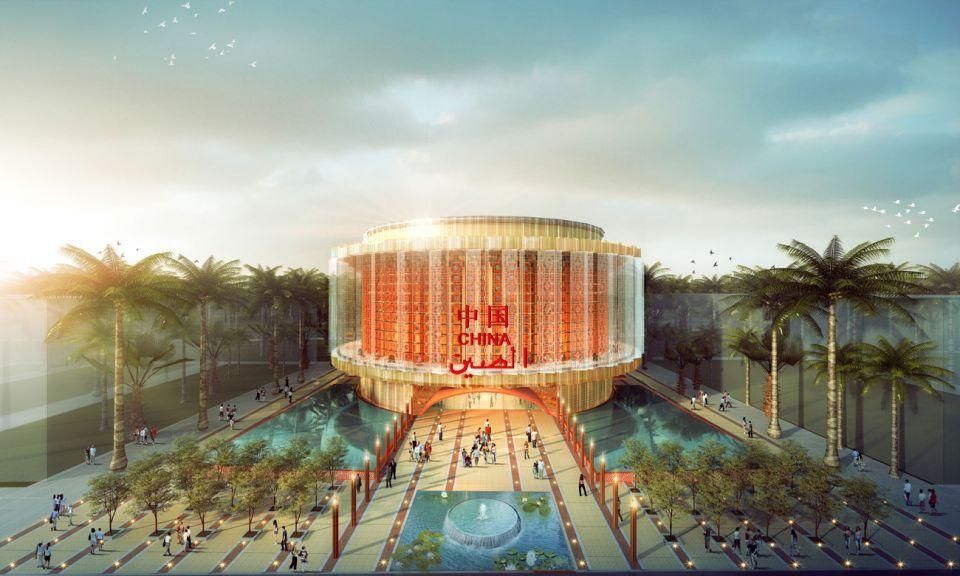 شاهد  تصميم الجناح الصيني في إكسبو 2020 دبي