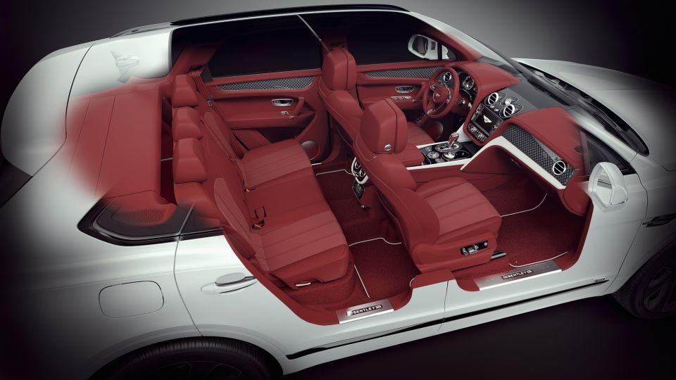 تصميم عصري ديناميكي لمركبة Bentayga V8 Design Series الجديدة