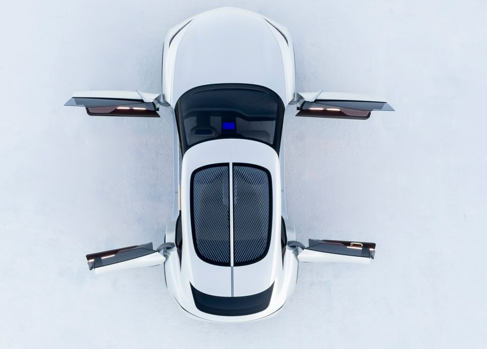 أول صور سيارة انفينيتي الكهربائية