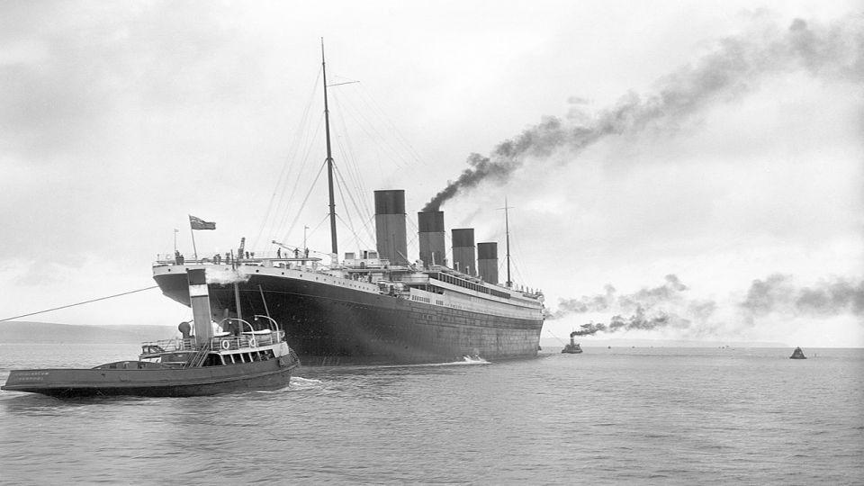 بالصور : 107 عاماً على غرق تايتانك