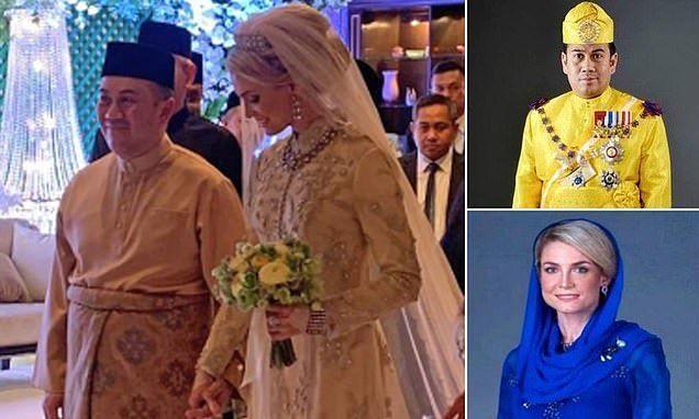 ولي عهد ماليزيا يتزوج  مربية سويدية