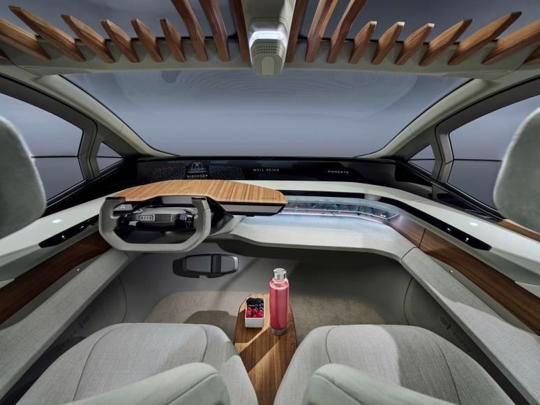 Audi تكشف عن نموذجها الكهربائي المستقبلي Audi AI: ME