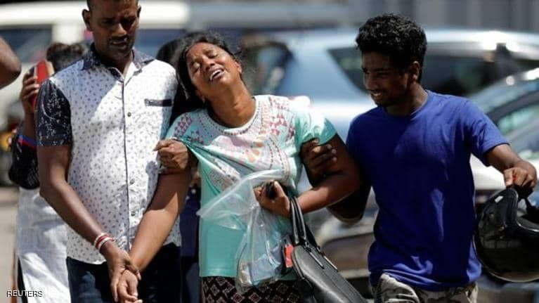 ارتفاع عدد ضحايا تفجيرات سريلانكا إلى 310 قتلى