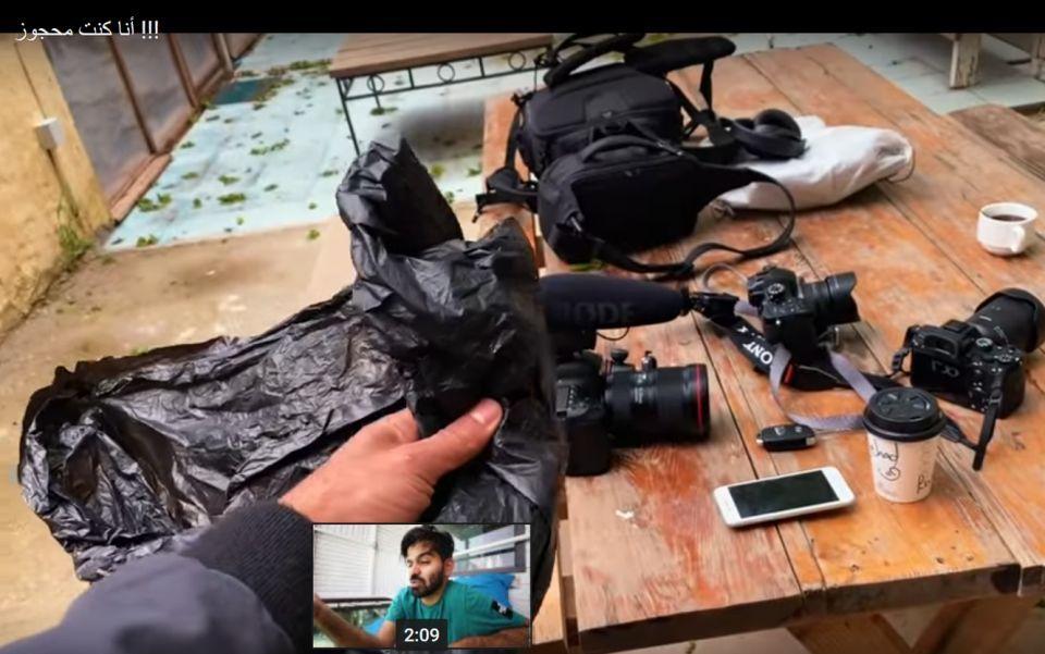الأردن يسجن مدون الفيديو جهاد حطاب