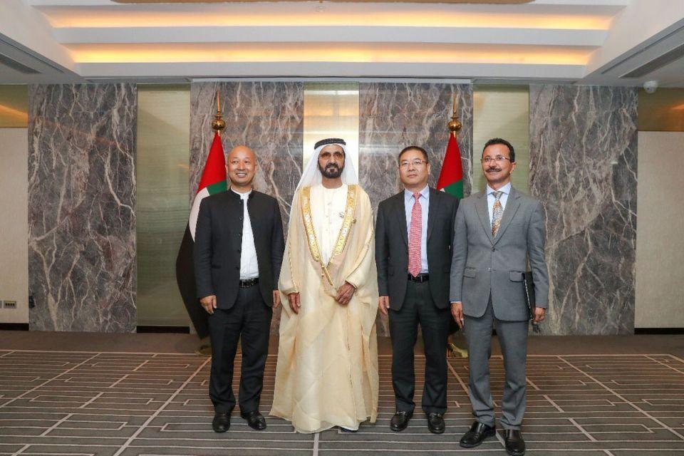 محمد بن راشد يطلق مشروعين ضمن «طريق الحرير الجديد» في دبي