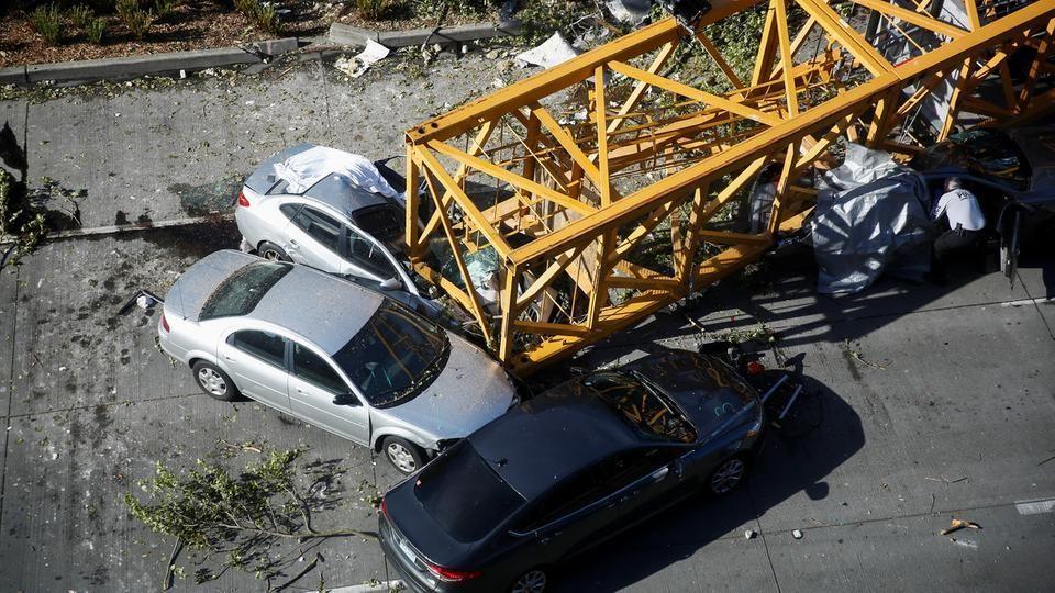 انهيار رافعة يقتل 4 أشخاص في مقر غوغل الجديد في سياتل