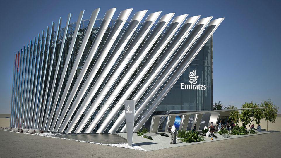 شاهد تصميم جناح طيران الإمارات في إكسبو دبي 2020