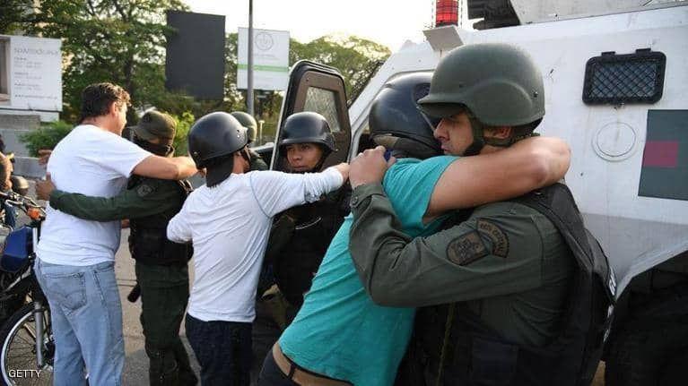 بالصور : انقلاب عسكري في فنزويلا