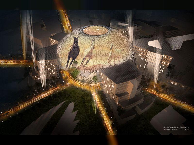 كريستي تبهر العالم بعروض بصرية خلال إكسبو 2020 دبي