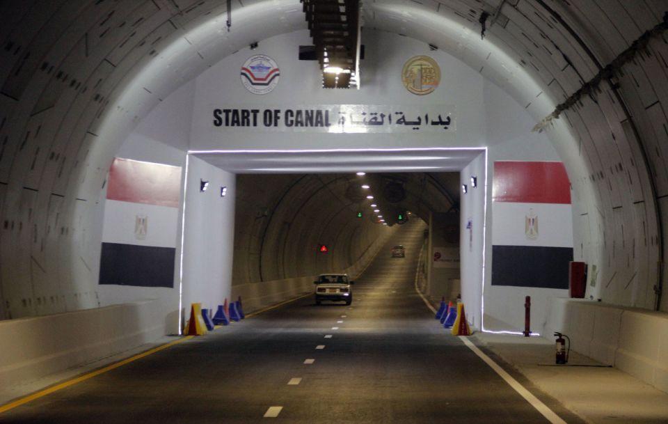 مصر تفتتح أنفاقاً أسفل قناة السويس للربط بين آسيا وإفريقيا
