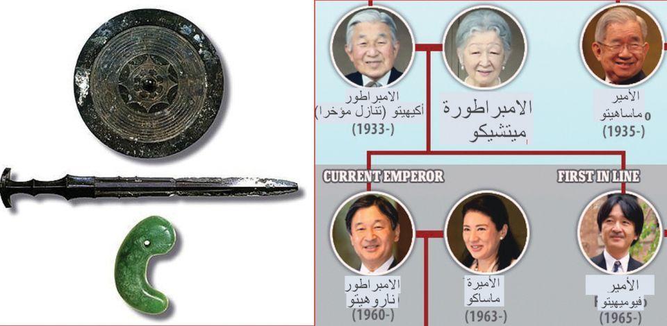 شاهد طقوس تولي عرش امبراطور اليابان