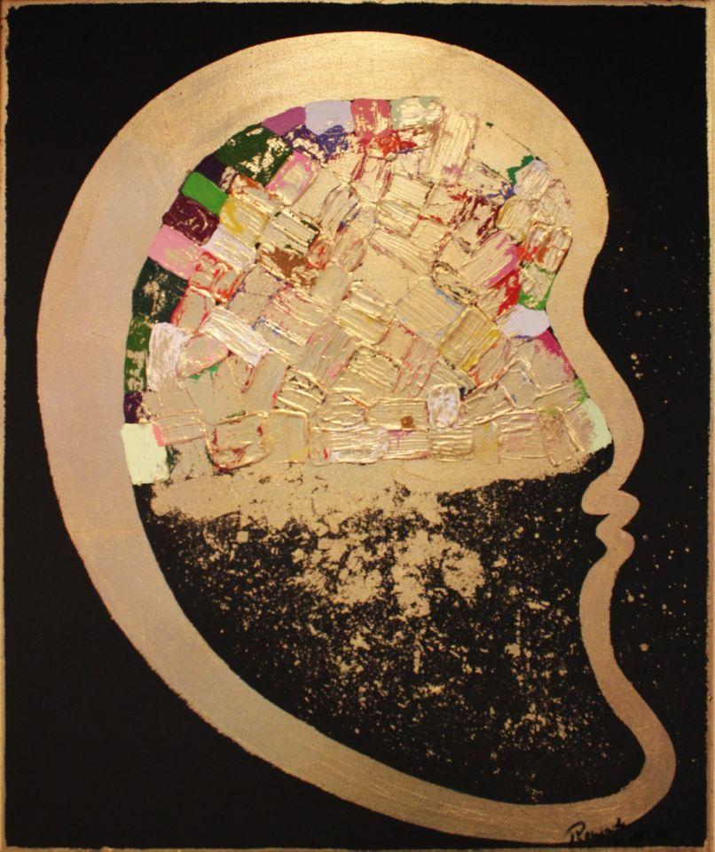 بصمة رمضانية في المعرض الفني الثاني للفنانة التجريدية رويدا حكيم