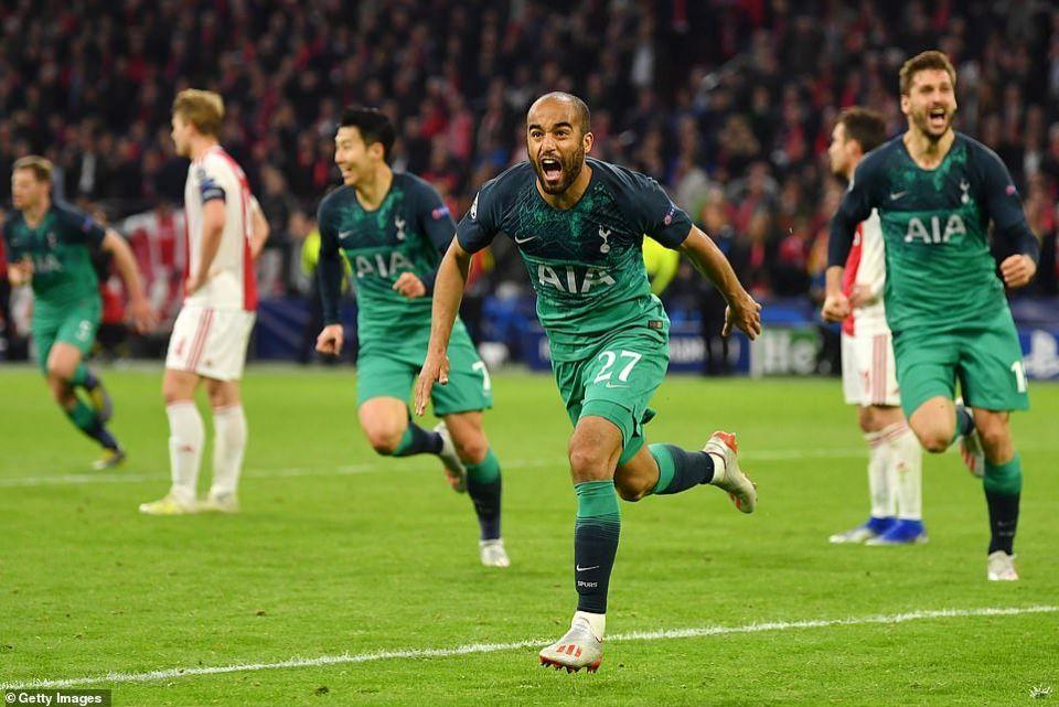 توتنهام يلاقي ليفربول في نهائي دوري أبطال أوروبا بعد فوزه على أياكس بثلاثة أهداف