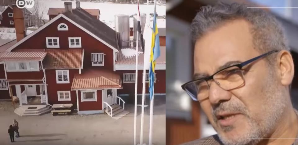 كيف رفع فلاح مصري من المنوفية علم بلاده في ريف السويد