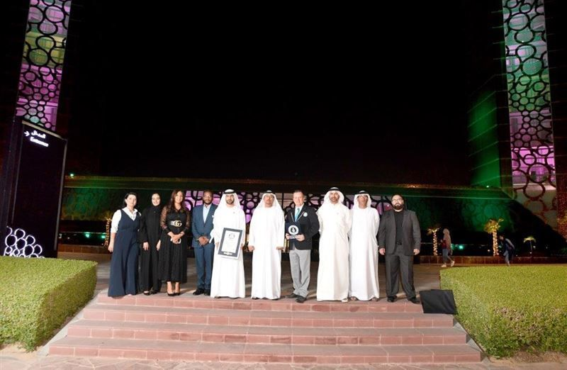 شاهد.. برواز دبي يحقق رقما قياسيا في سجل غينيس العالمي