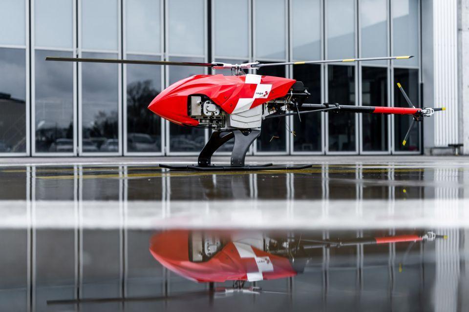 بالصور : طائرة بدون طيار للبحث عن المفقودين